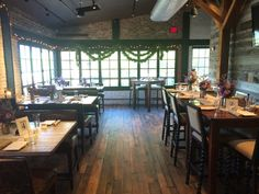 wedding reception in the Porch room at Virtue Feed & Grain #virtueevents