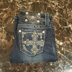 NWOT MISS ME JEANS SZ 25 Brand New Without tags, Size 26, Inseam 32 Signature-Rise Boot Cut Jeans Miss Me Jeans Boot Cut