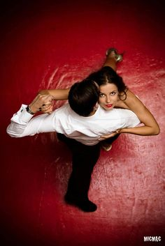 Passionate Tango dancing… Is there any other way to dance it?