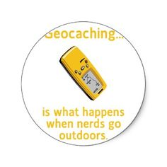 Geocaching Nerds Stickers