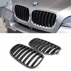 BMW X5 E70 X6 E71 Carbon Fiber Front Grille (2) | 相片擁有者 DCR TUNING