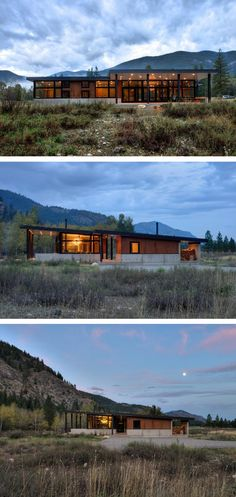 CAST Architecture have designed the Ranchero House for a family in Mazama…