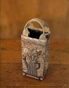 Japán papírra varrt.... - Ágnes Arató - Picasa Web Albums Japanese Patchwork, Japanese Bag, Japanese Quilts, Patchwork Bags, Quilted Bag, Bag Quilt, My Style Bags, Sweet Bags, Linen Bag