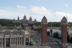 Spanien, Barcelona, Panorama, Stadt, Architektur
