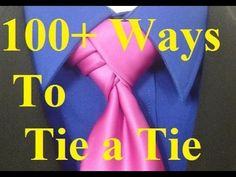 How to Tie a Tie Velvet Knot for your Necktie - YouTube