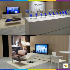 Our exhibit helped SONY stand out amongst the crowd at the Consumer Electronics Show (CES) in Las Vegas. CES has become so large it has now spread to over seven hotel locations, including The Mirage where this exhibit was displayed. #tradeshow #display #exhibit #CES #consumerelectronicsshow