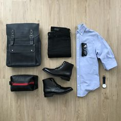The best selection of contemporary and vintage clothing, luxury brands and many more you can buy online now Gentleman Mode, Gentleman Style, Mens Style Guide, Men Style Tips, Stylish Mens Outfits, Casual Outfits, Business Casual Men, Men Casual, Look Fashion