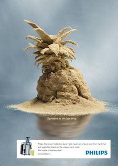 Philips: Pineapple (Advertising Agency: Ogilvy, Moscow, Russia || Executive Creative Director: Robin Weeks || Art Director: Nedda || Al-Madani Copywriter: Alexandra Polyakova || Photographer: Jacek Wolowski || Published: April 2013)