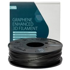 Graphene-enhanced PLA Filament - Dark Grey, 400g, available from Afinia 3D