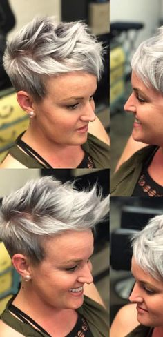 Best Short Hairstyles for Women Over 40 - Chic Pixie Haircut
