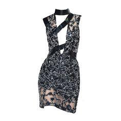 Versace-editedbyelfemme ❤ liked on Polyvore featuring dresses, short dresses, vestidos, versace dresses, versace and mini dress