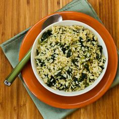 Kalyn's Kitchen®: Recipe for Creole-Spiced Rice and Kale  (Loved this combination with rice, Creole seasonings, and kale!)