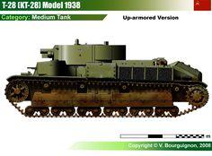 T-28 M1938 Medium Tank