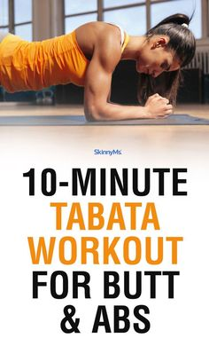 Tabata Workout for Arms & Abs - - Workouts that deliver all the health benefits in a fraction of the time are key in a healthy lifestyle. This Tabata workout for arms & abs takes just 10 min. Six Pack Abs Workout, Abs Workout For Women, Workout For Beginners, Fat Workout, Boxing Workout, 10 Min Arm Workout, Dumbbell Workout, Sport Fitness, Fitness Tips