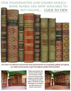 Genial We Have Been Producing Beautifully Crafted Faux Antique Books For  Installations, Homes And Commercial Interiors For Over 40 Years. Fake Books  Are An Amazing ...