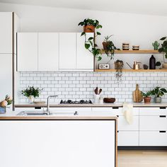 Today we introduce @cantileverinteriors a local small business that has been designing and building handcrafted kitchens for the past decade. Cantilever design and make all their kitchens in house in their East Brunswick workshop! Today we chat to co-founders Travis Dean and Charlie Wilde. photo by @gemmola styling by @ruthwelsby and words by @lisamariecorso - link to story in profile by thedesignfiles