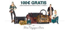 ¡Consigue 100€ para tus prendas, zapatos y complementos preferidos de #niceandcrazy!