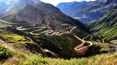 The most beautiful road in the world(actually Tom Clarkson's Top Gear comment) . probably  . :)  TransAlpina .