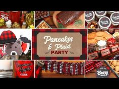 Pancakes & Plaid Party   Holiday Brunch Ideas - YouTube