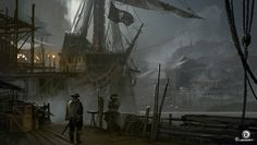 Concept artistMartin Deschambault was kind enough to share some of the concept art he created for Assassin's Creed IV Black Flag. Martin is currently working as a Senior Concept Artist at Ubisoft Montreal. To see more of his concept art forAssassin's Creed IV Black Flag be sure to check out The Art of Assassin's Creed …