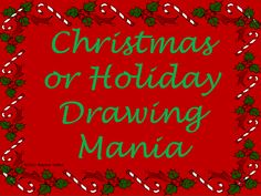 "FREE LESSON - ""Christmas or Holiday Drawing Mania"" - Go to The Best of Teacher Entrepreneurs for this and hundreds of free lessons. 2nd - 5th Grade #FreeLesson #Christmas http://www.thebestofteacherentrepreneurs.net/2012/12/free-misc-lesson-christmas-or-holiday.html"