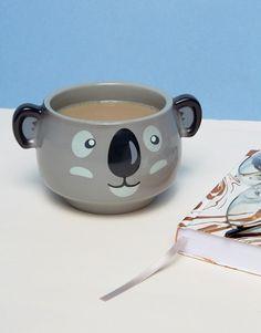 Thumbs taza que cambia de color con diseño de koala