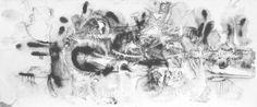 E. Besozzi pitt. 1963 Ricordi di viaggio china su carta arc. 815