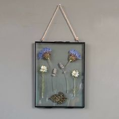 Real pressed flower pictures by Flippingcraftydesign Make Pictures, Flower Pictures, Box Frames, Uk Shop, Create Yourself, Etsy Seller, Handmade Gifts, Flowers, Kid Craft Gifts