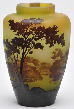1000 images about art glass galle on pinterest glass for Vaso galle