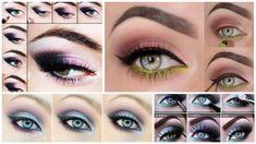 Smokey eyes: 17 tutoriales para hacerlos que amarás Smokey Eyes, Smokey Eye Makeup, Tattoo Skin, Makeup 101, Makeup Tattoos, My Hair, Eyebrows, Halloween Face Makeup, Make Up