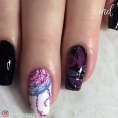 These nail designs can't get any cuter! 😍 By: These nail designs can't get any cuter! Nail Art Designs Videos, Nail Art Videos, Diy Nail Designs, Simple Nail Designs, Fingernail Designs, Nagel Stamping, Stamping Nail Art, Nail Stamping Designs, Diy Nails
