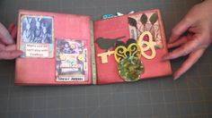 52 Mini Album Journals and Such From 52 Pieces of Paper: Project 6: Venu... CHECK OUT THAT BRACELET ISN'T IT GREAT?