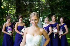 Wedding -Fun pose for a bridemaids shot