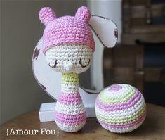 { Amour Fou | Crochet }: Sonajeros para Bebé