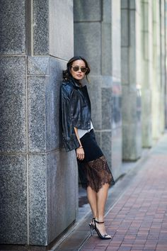 Black Lace Skirt Archives - Repeat Offender