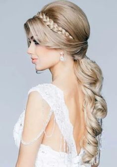 Bello peinado...