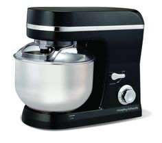 Morphy Richards Accents 400005 Stand Mixer - Black: Amazon.co.uk: Kitchen & Home