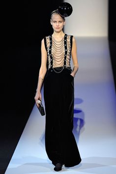Fall 2013 Ready-to-Wear  Giorgio Armani