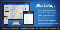 Download and review of Atlas Directory & Listings Premium WordPress Theme, one of the best Themeforest Corporative themes