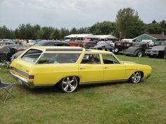 66 Buick Sport Wagon by DVS1mn, via Flickr