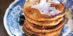Pancakes gourmands à l'épautre complet et son d'avoine