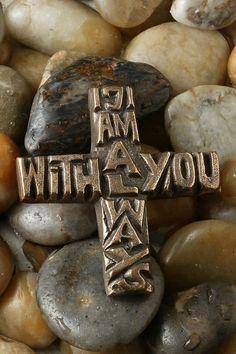 I Am Always With You Bronze Cross – Celebrate Faith