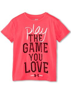 Play the game graphic tee big kids pinkadelic, Under Armour, Girls - The girls! - Under Armour Girls& Play The Game Graphic Tee (Big Kids) - Under Armour Outfits, Nike Under Armour, Under Armour Girls, Under Armour Shoes, Athletic Outfits, Athletic Wear, Sport Outfits, Kids Outfits, Cute Outfits