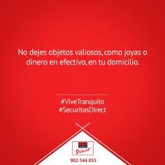 No dejes objetos valiosos en tu domicilio #ViveTranquilo