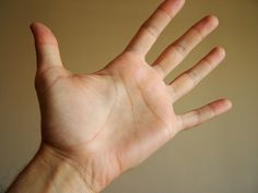The number of Xs in the palm of your right hand is the number of children you will have.