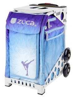 Zuca Ice Dreamz skating bag  choose your frame color white frame * Visit the image link more details. This is an Amazon Affiliate links.