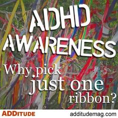 ADHD awareness month www.edgefoundation.org