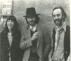 Teresa Cano, Joaquín Sabina y Javier Krahe.
