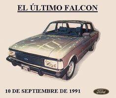 Último Falcon fabricado en Argentina