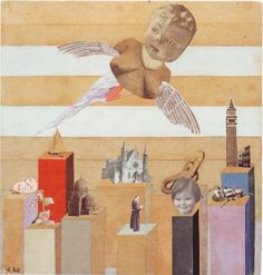 Guardian Angel. Hannah Höch, 1927/8